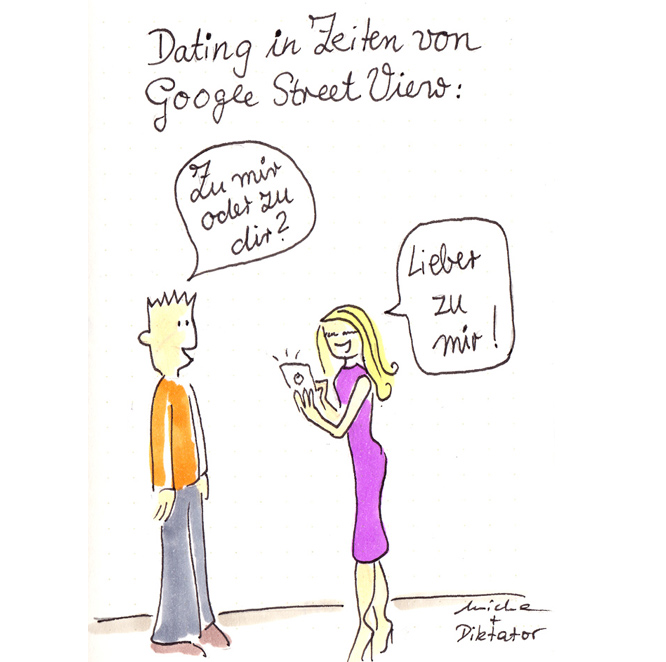 Dating in Zeiten von Google Street View