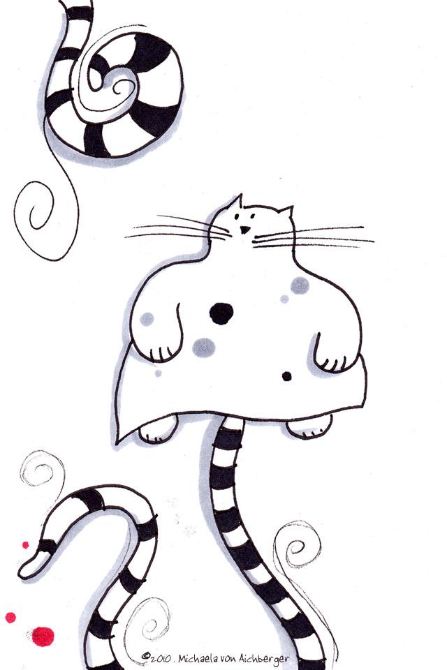 iPhone Katze