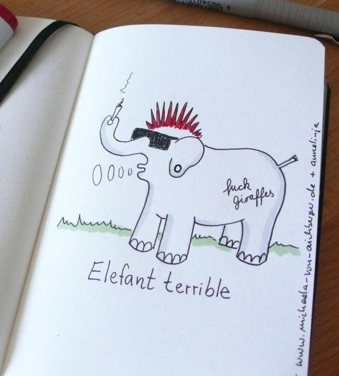 Elefant terrible
