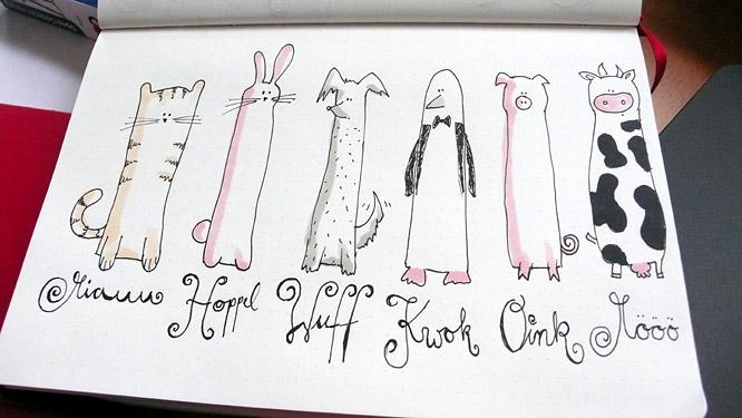 Ein paar lustige Tierchen aus dem Lameng
