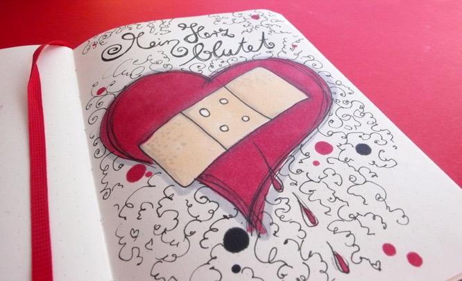 Blutendes Herz
