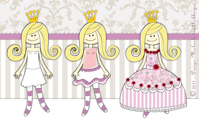Prinzessinnenkleidchen