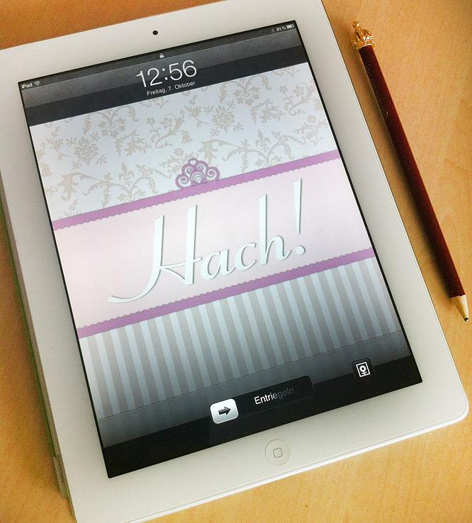 iPad Hach