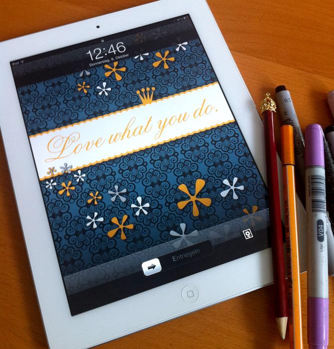 iPad Sperrbildschirm