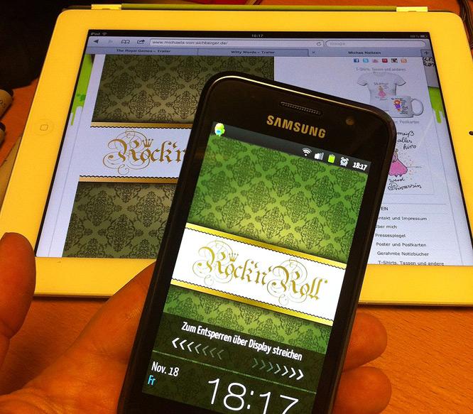 Lockscreen für Android