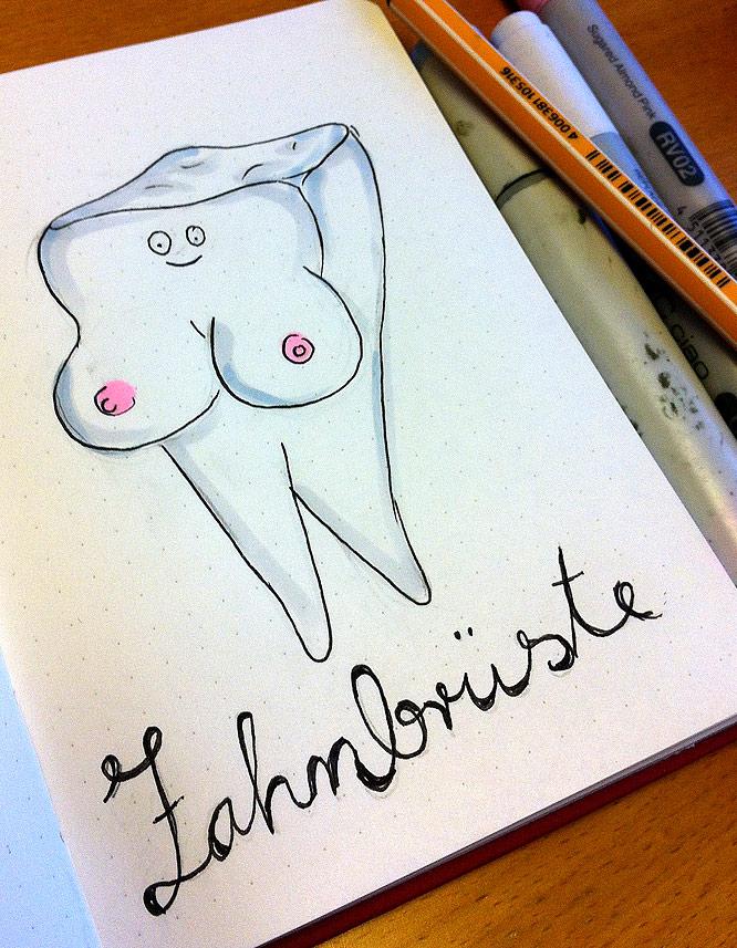 Zahnbrüste