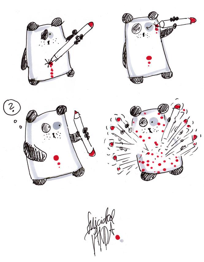 Suicidal Panda